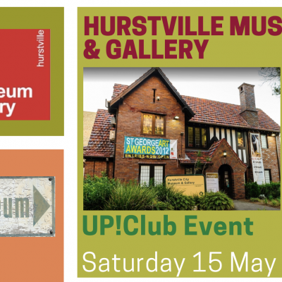 Up!Club Visit to Hurstville Museum and Gallery