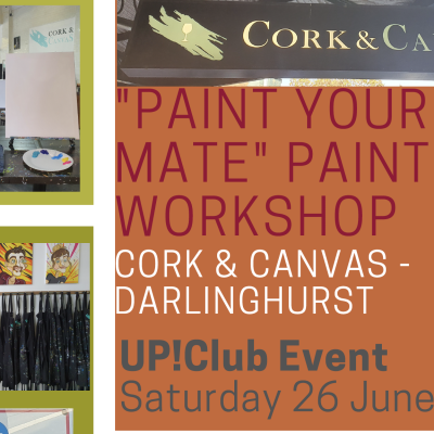 """Up!Club Painting Workshop – """"Paint Your Mate"""""""