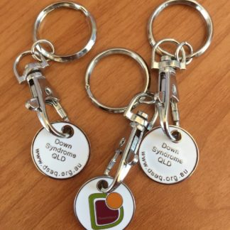 Down Syndrome Queensland Keyring