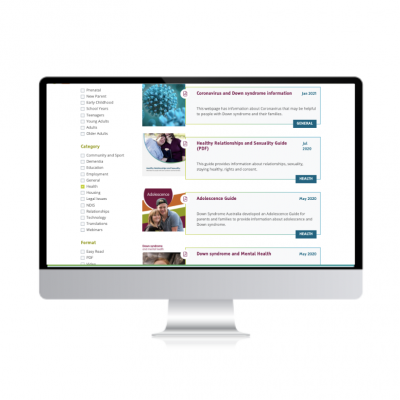 A computer screen shows the DSA website