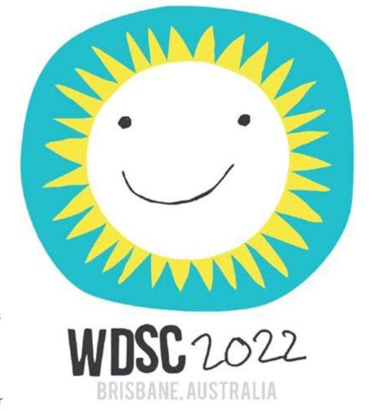 World Down syndrome Congress 2022 logo