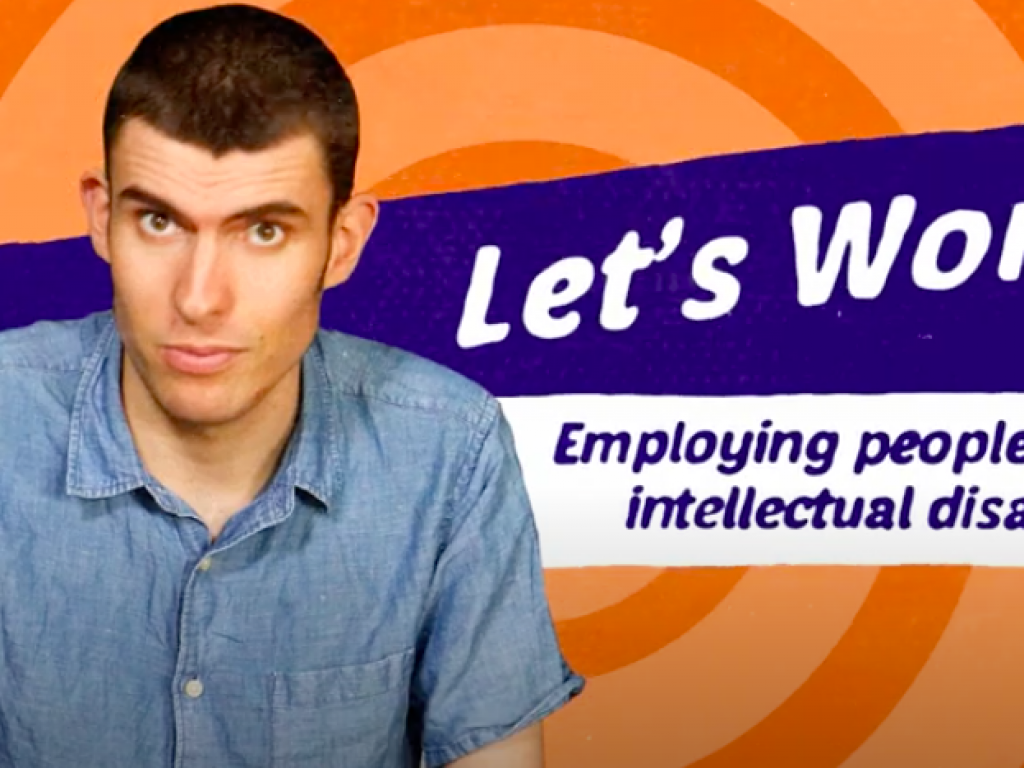 The cover of the Lets work videos