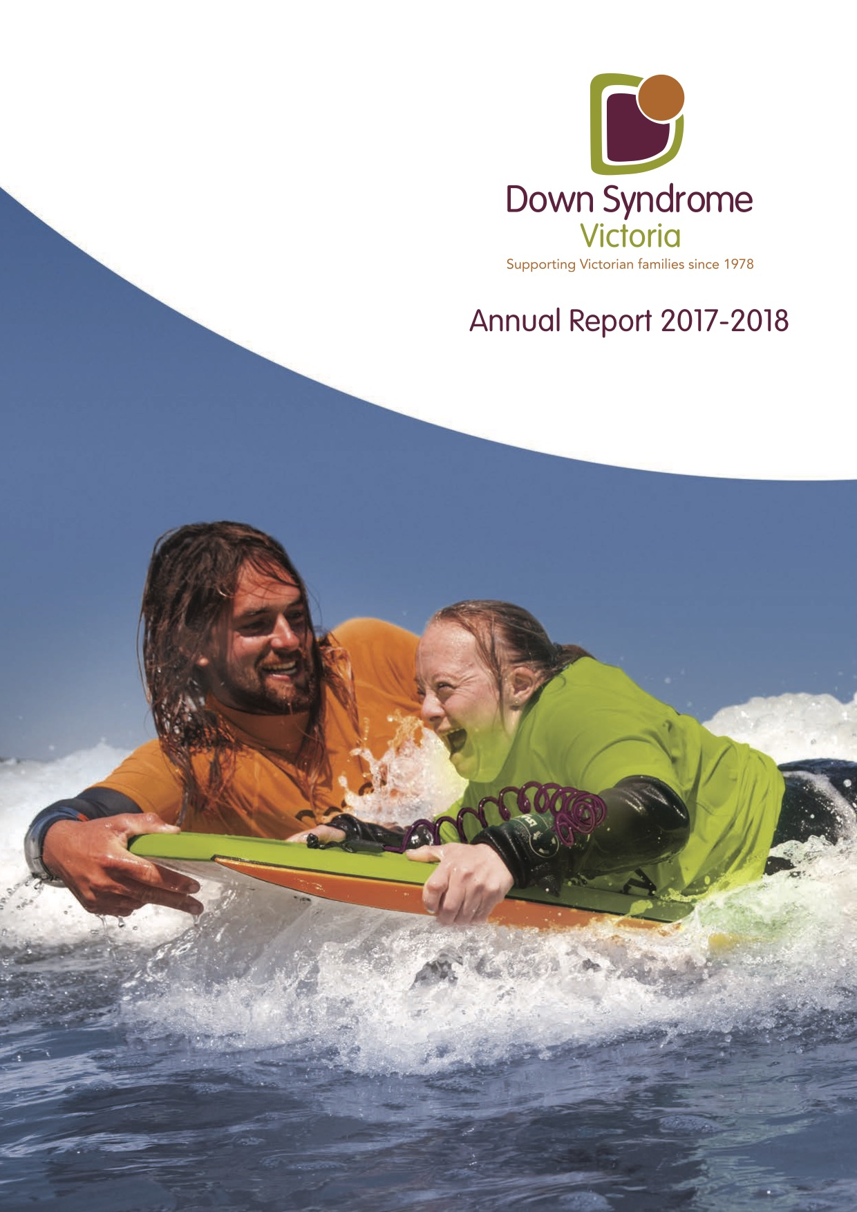 Down Syndrome Victoria Annual Report 2017 to 2018