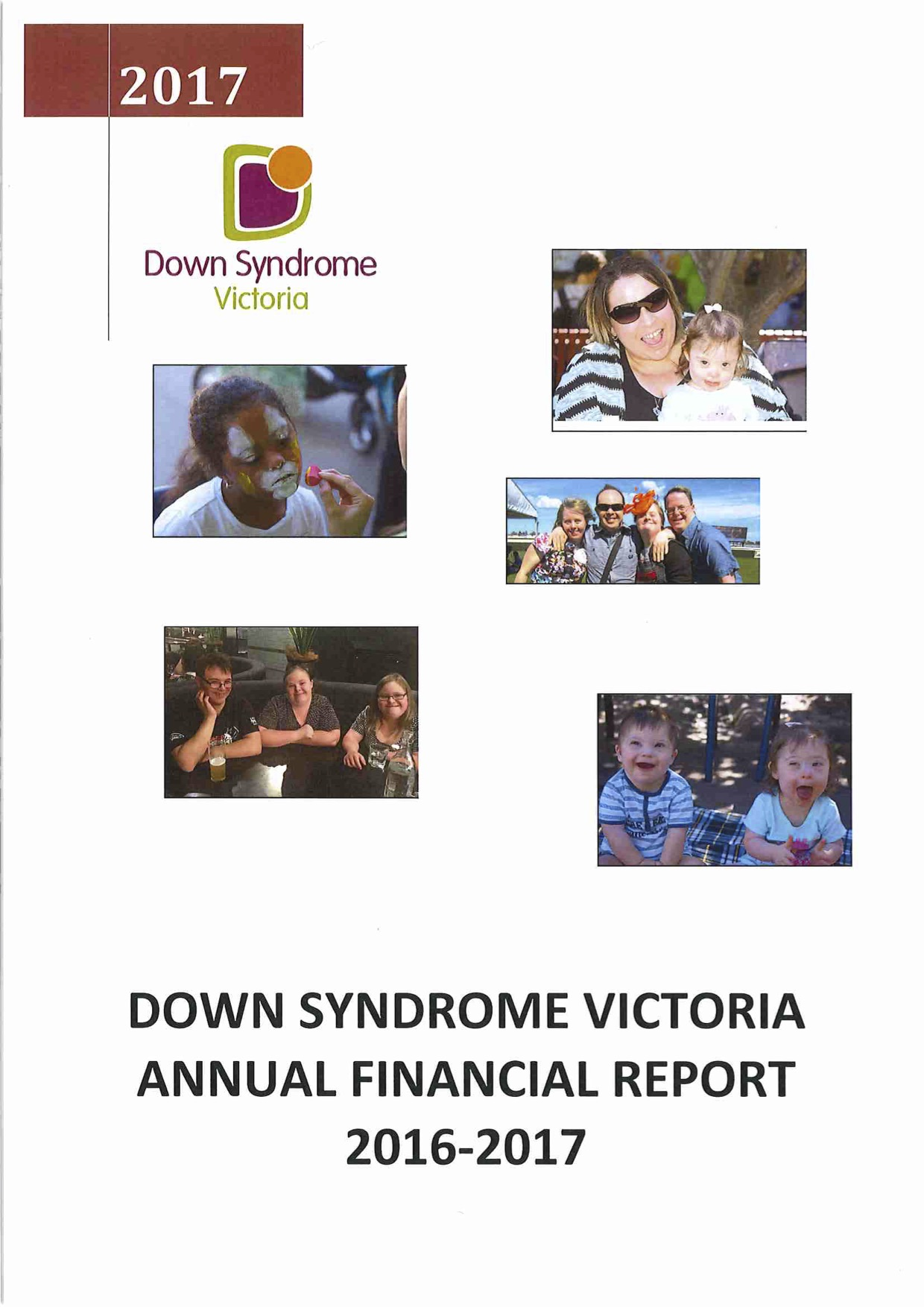 Down Syndrome Victoria Financial Report 2016 to 2017
