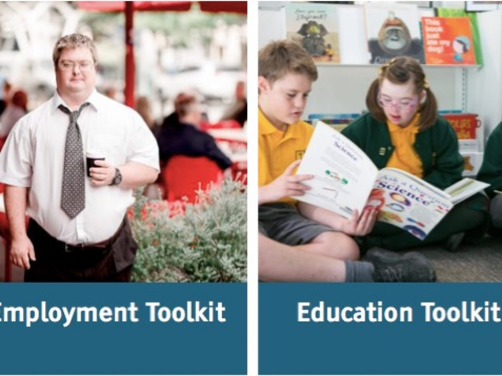 Cover images of the Community Inclusion Toolkits