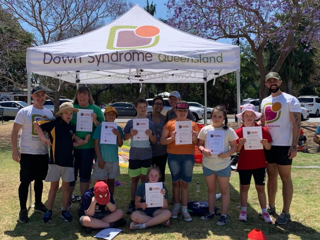 Down Syndrome Queensland teens