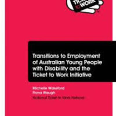 Cover of the Transition to Employment Report