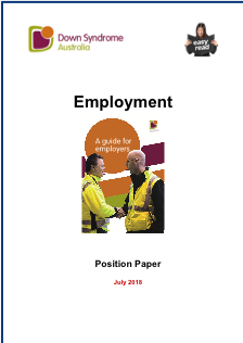 Position on Employment (Plain English) icon