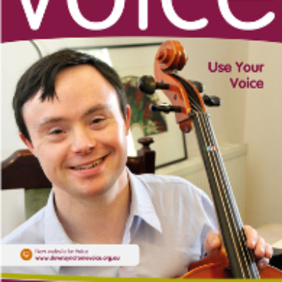 The cover of Voice journal
