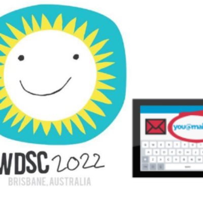 The World Down syndrome Congress logo and a calendar