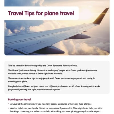 Travel tips for plane travel
