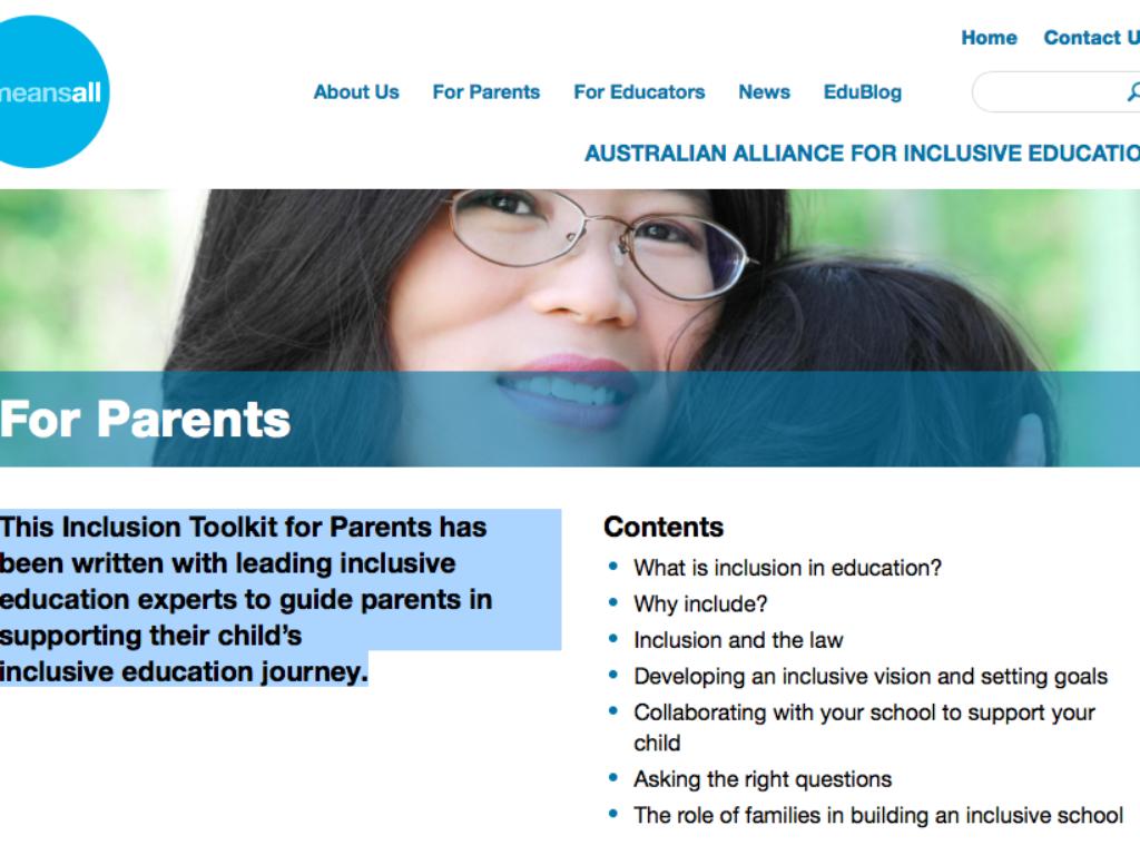 Inclusive Education Toolkit thumbnail.