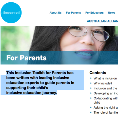 Inclusive Education Toolkit