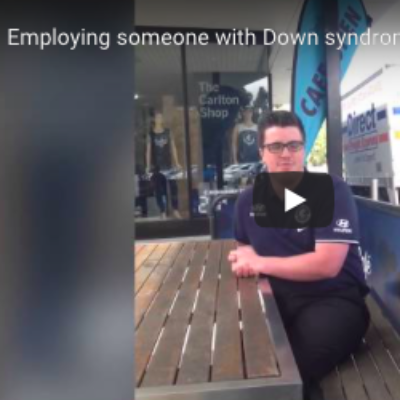 Employing someone with Down syndrome