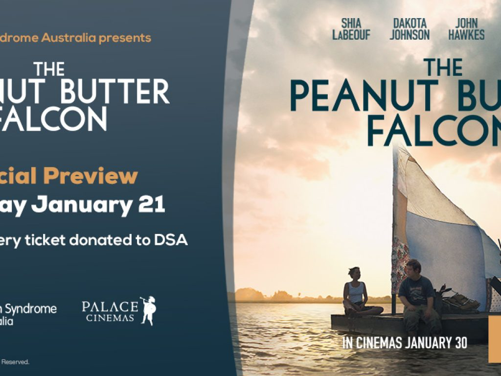 DSA presents The Peanut Butter Falcon at Palace Cinemas across the country! thumbnail.