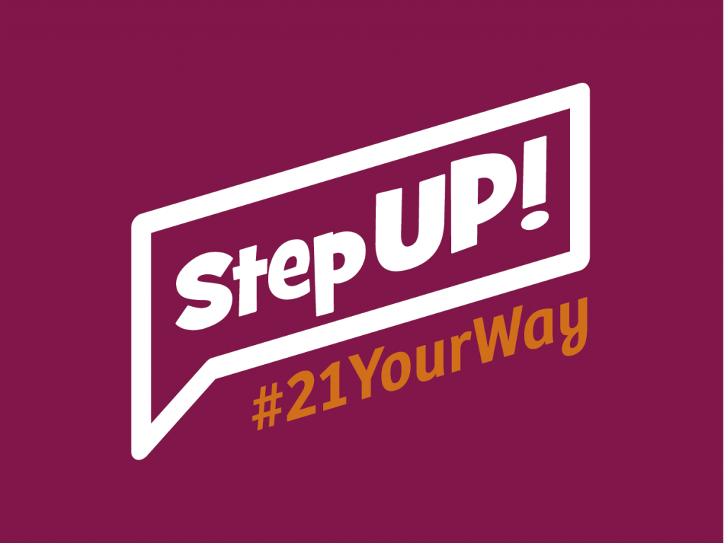 StepUP! #21YourWay thumbnail.
