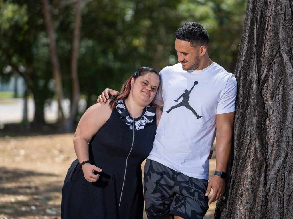 Valentine Holmes joins Down Syndrome Australia as ambassador thumbnail.
