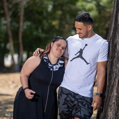Valentine Holmes joins Down Syndrome Australia as ambassador thumbnail.