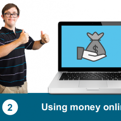 Using money online (Easy Read)