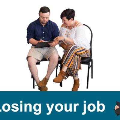 Losing your job (Easy Read)