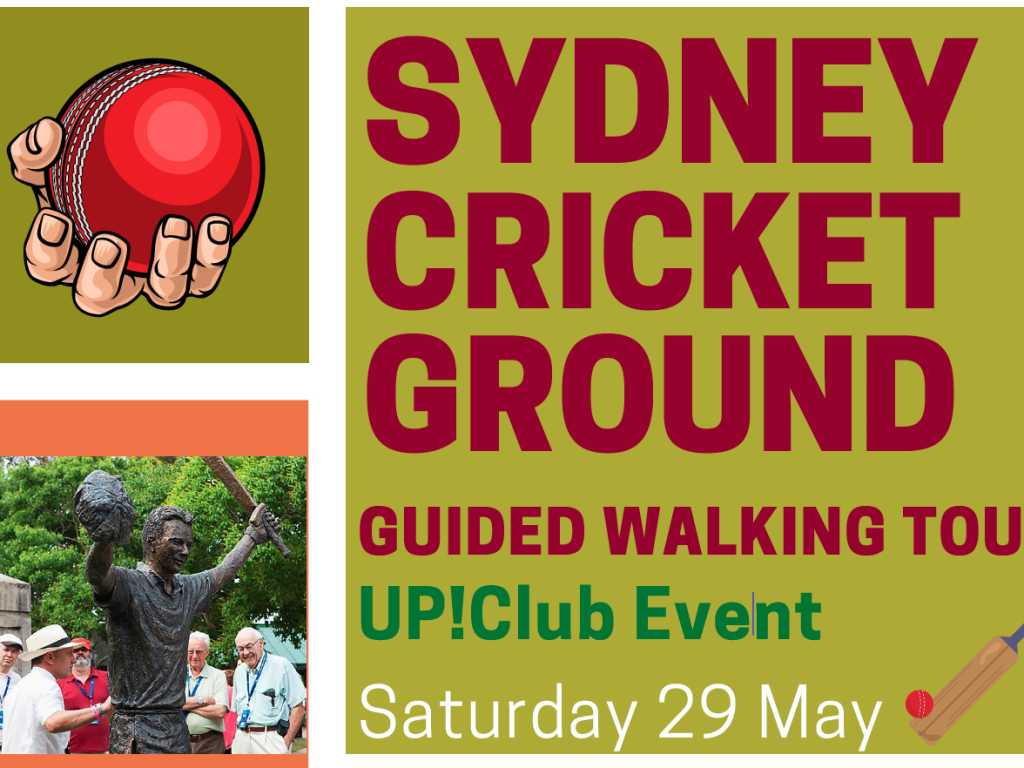 Up!Club Event – Guided Walking Tour of the SCG thumbnail.