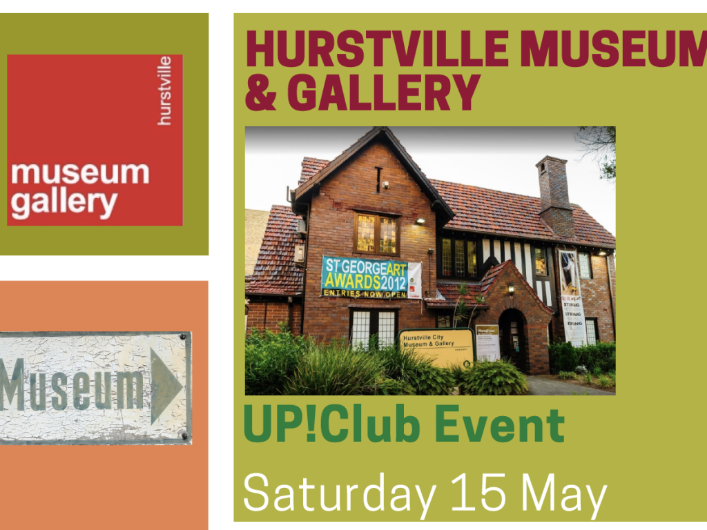 Up!Club Visit to Hurstville Museum and Gallery thumbnail.