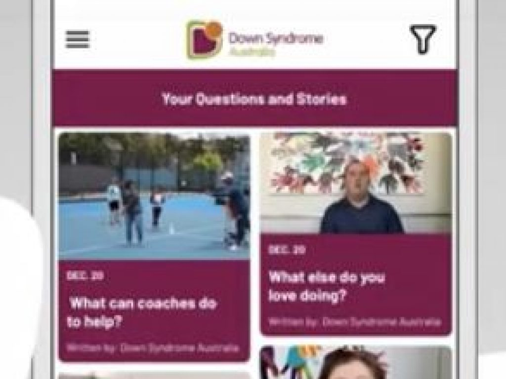 Ask About Down syndrome App thumbnail.